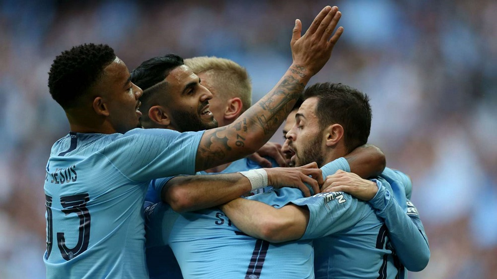 Sterling hat-trick helps secure unprecedented domestic treble