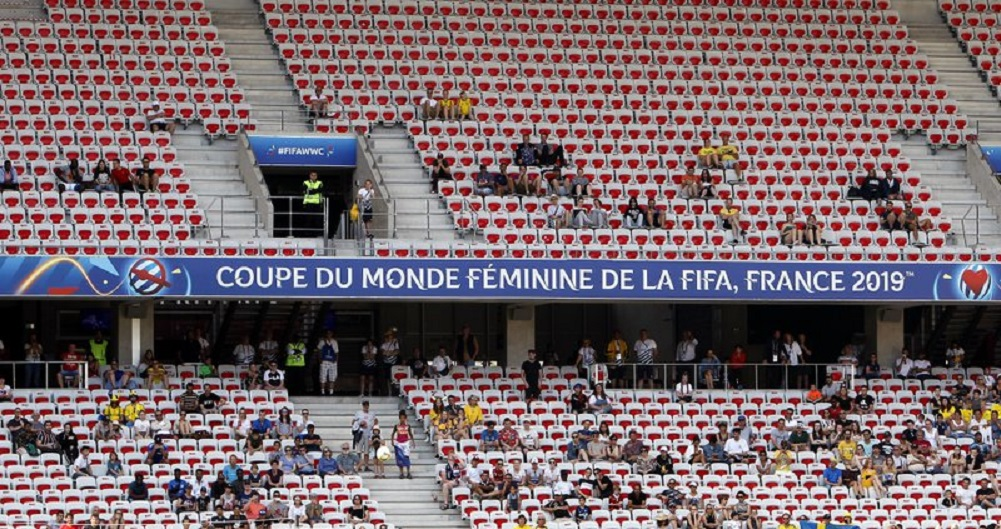 No sold out games in Women's World Cup 2nd round