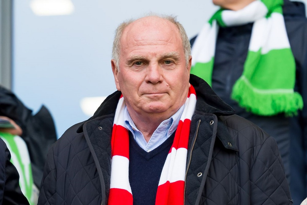 "Forty years after he first started as general manager, Uli Hoeness is being celebrated by Bayern Munich for turning it into one of the world's most successful clubs.  Hoeness began administrative duties on May 1, 1979, after his playing career was prematurely ended by chronic knee problems. As a forward for Bayern, he made 239 Bundesliga appearances from 1970-79, and bagged 86 goals. When he took over as manager, Bayern had 12 employees, 12 million Deutschmarks (about $7 million) in revenue, and 8 million DM ($4.6 million) of debt. Since then, the club has claimed 49 titles, including 20 Bundesligas, 11 German Cups, and 2 Champions Leagues, and built financial reserves rarely seen in debt-ridden European soccer. Turnover rose to a club-record 657.4 million euros last season. ""Uli Hoeness is a stroke of luck for Bayern. He was that as a player and is that as manager, president, and supervisory board chairman,"" Bayern honorary president Franz Beckenbauer said. ""What the club is today and the values for which it stands are down to him to a large extent, his specialist knowledge, his engagement, his competence. We can count ourselves lucky to have him."" The only blot on Hoeness' otherwise stellar career is the conviction he received in March 2014 for evading 28.5 million euros in taxes through a Swiss bank account. Hoeness quit as Bayern president and chairman after being sentenced to 42 months in prison but resumed duties in November 2016 after serving half of the term. He remained close to the club while in custody, benefiting from a work-release program to help in its youth department before returning to prison overnight. As a player, Hoeness won the 1972 European Championship and the 1974 World Cup with West Germany and three straight European Cups - the predecessor of the Champions League - with Bayern. ""As manager, Uli was busy, smart, and inventive,"" Bayern chairman Karl-Heinz Rummenigge said. ""He has been Bayern's biggest fan for over 40 years."" Rummenigge remembered becoming Hoeness' roommate after he joined Bayern in 1974 following Paul Breitner's transfer to Real Madrid.  ""On the first day I crept into the training camp at Tegernsee. I didn't know how to react so I just kept my mouth shut at first,"" Rummenigge said. ""After dinner, 'The Commissioner' was on TV and suddenly Uli spoke up: 'Are you also going to say anything today?' That's Uli. Always straight and to the bone."" While Hoeness, now 67, has long been unpopular among rival fans due to his abrasive style and blunt manner, he has faced criticism from within for the first time this season due to the club's sponsorship deals with Qatar, his outbursts against the media, and personal tirades against former players and coaches. Hoeness faced boos and whistles at the club's AGM last November, and subsequently announced he would consider walking away from the club. He is to decide in June if he will run for another four-year term as president in November."