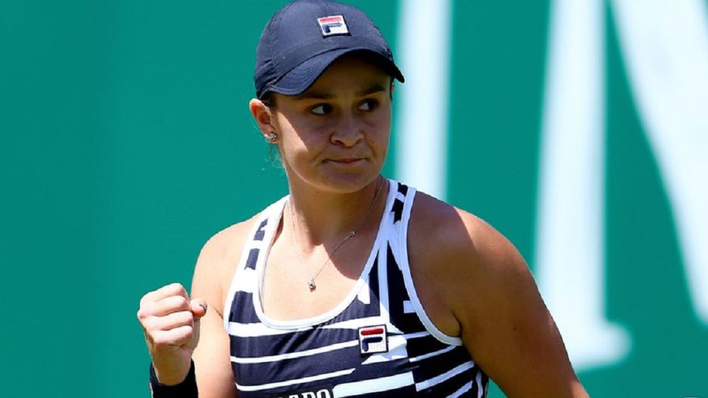 Barty to be new world No. 1 after Birmingham win