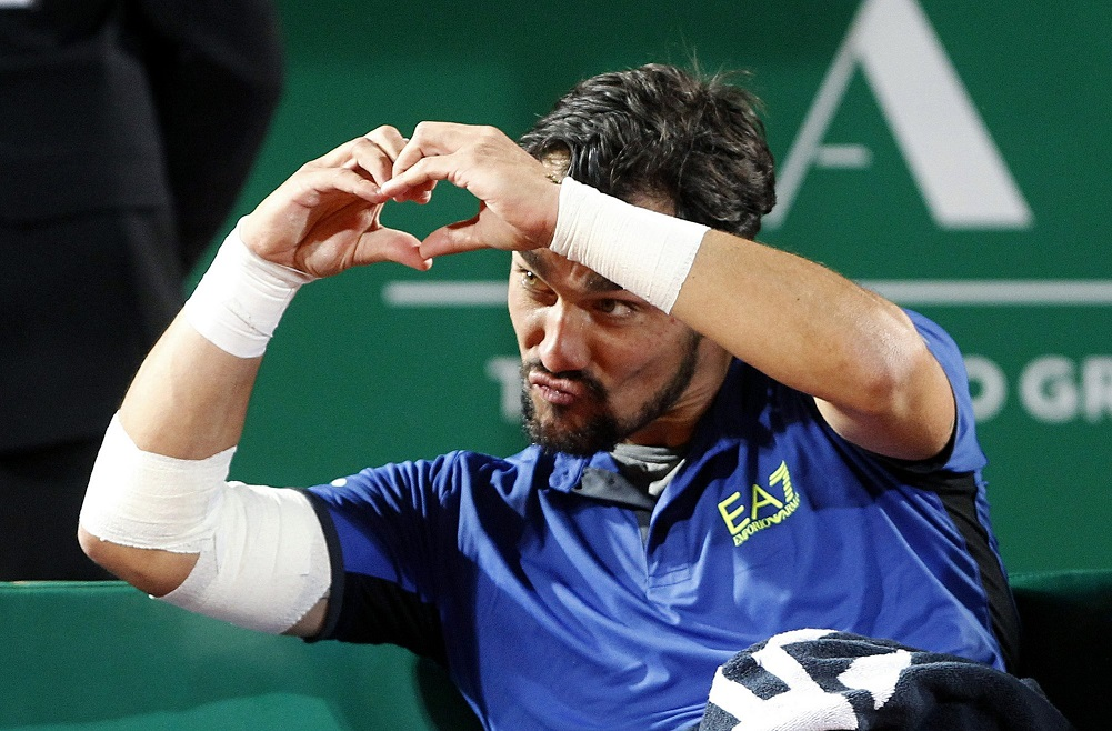 Fognini stuns Nadal to reach Monte Carlo final