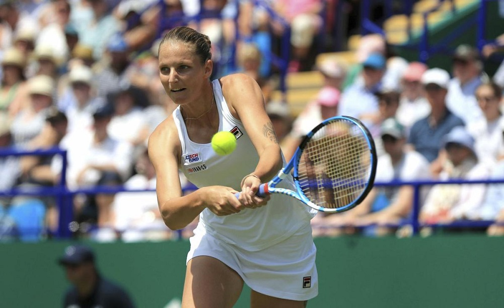 Pliskova beats Kerber in Eastbourne final