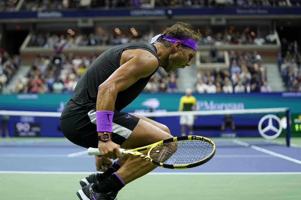 'Lucky, no?' Nadal fights past Berrettini into US Open final