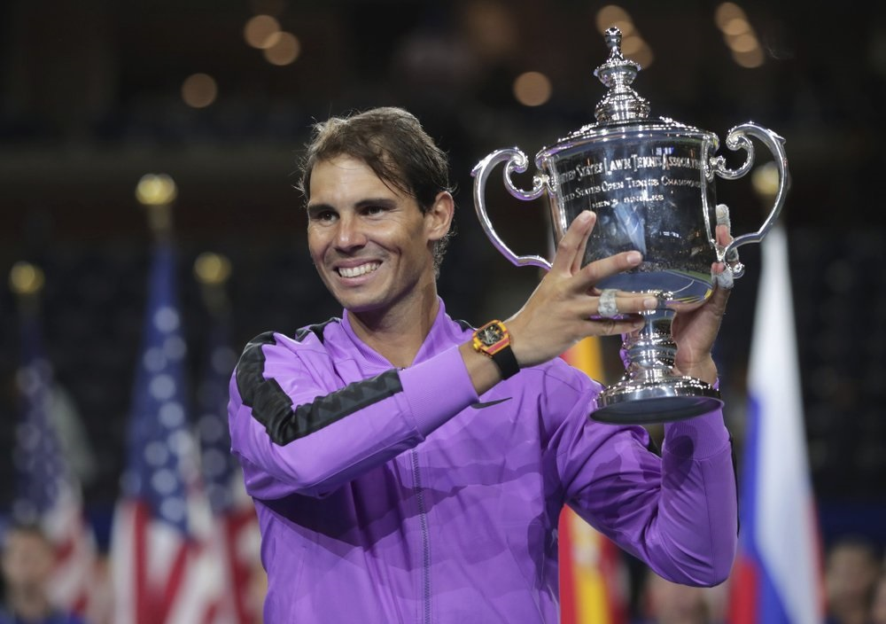Nadal stops Medvedev comeback bid to win US Open