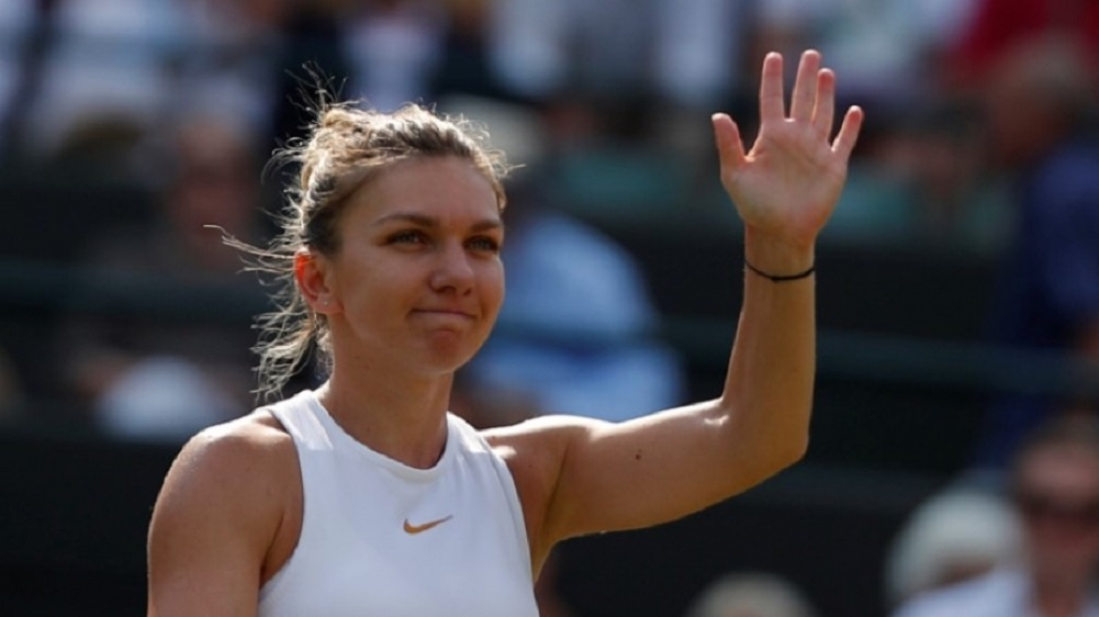 Halep steers steady path past Zhang into Wimbledon semis