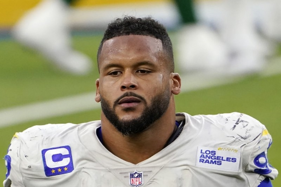Man accuses NFL's Aaron Donald of assault at Pittsburgh club