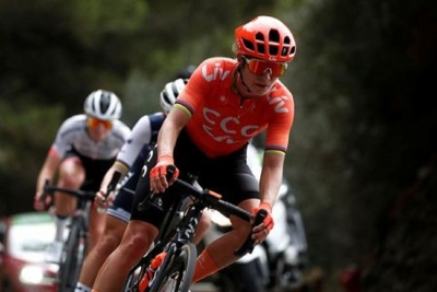 Cycling - La Course by Tour de France - Nice, France - August 29, 2020. CCC-Liv rider Marianne Vos of the Netherlands in action.