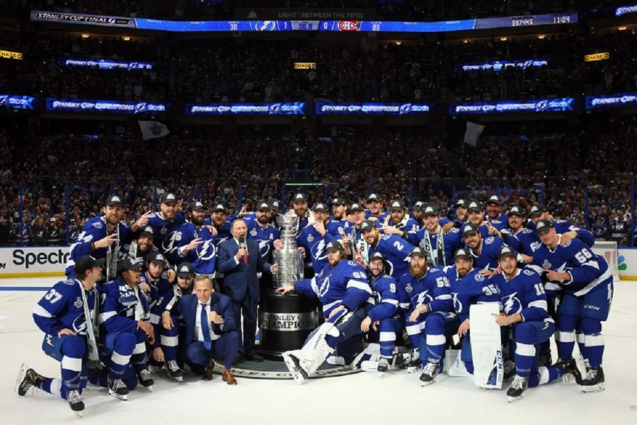 Tampa Bay beat Montreal to retain Stanley Cup