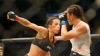 Jedrzejczyk beats Waterson despite 'broken' foot
