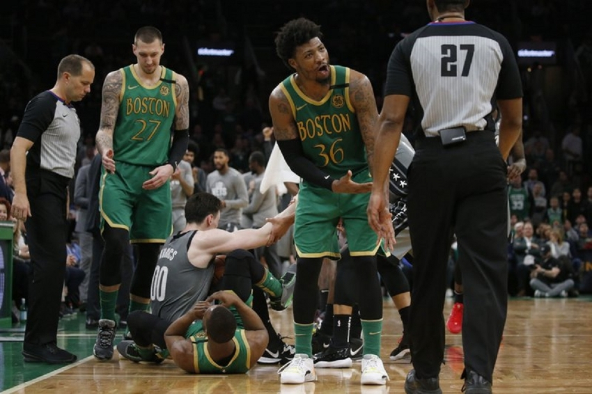 Celts' Smart fined $35,000 for repeated misconduct to refs