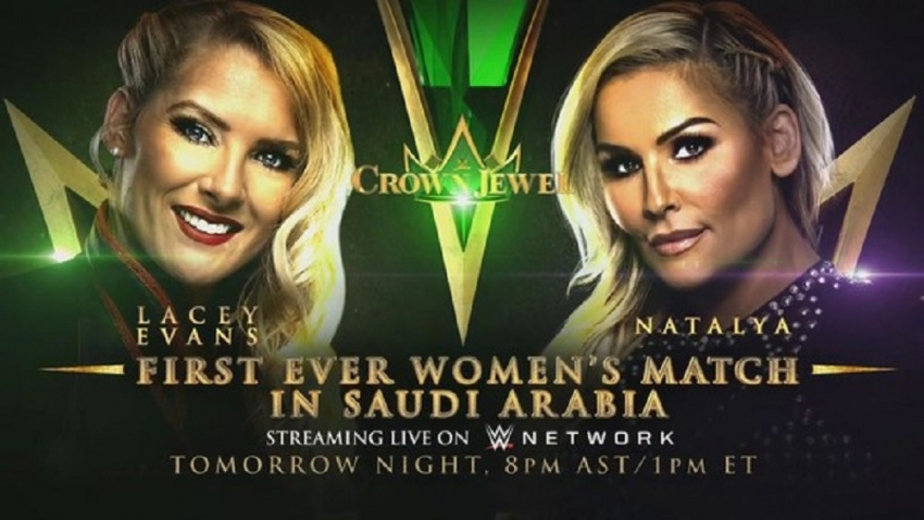 First ever women's match confirmed for WWE Crown Jewel