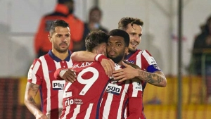 Cardassar v Atletico Madrid: Lemar leads the way as Simeone's team ease through