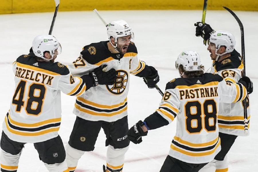 Boston Bruins v Washington Capitals: Marchand scores in OT, Bruins beat Capitals to even series