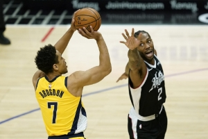 Indiana Pacers v Los Angeles Clippers: Clippers beat Pacers for 1st 4-game winning streak