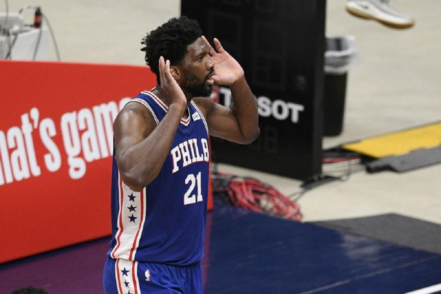 Philadelphia 76ers v Washington Wizards: Joel Embiid, 76ers rout Wizards to take 3-0 series lead