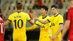 Shkendija vTottenham: Son the difference as Spurs scrape through again