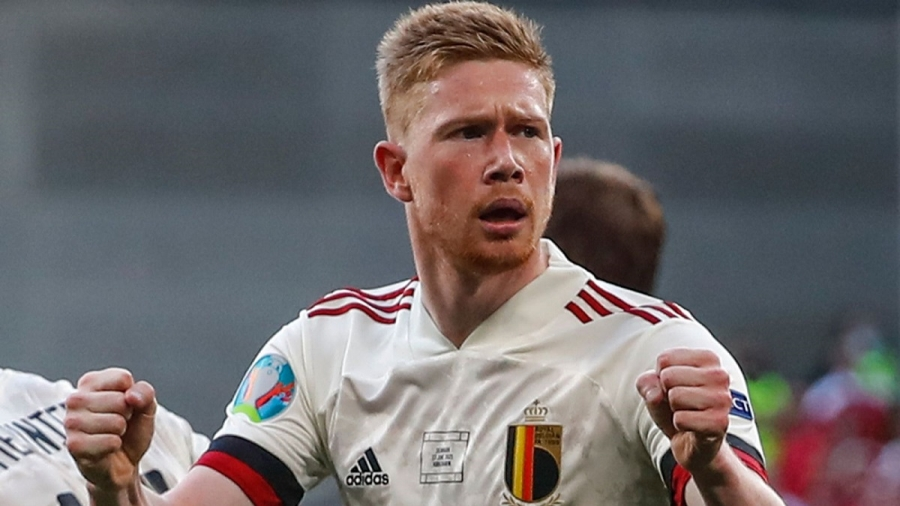 Denmark v  Belgium: Kevin De Bruyne inspires Red Devils to victory as they reach Euro 2020 last 16