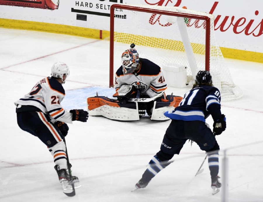 Edmonton Oilers v WInnipeg Jets: Jets finish off sweep of Oilers with victory in 3 OTs