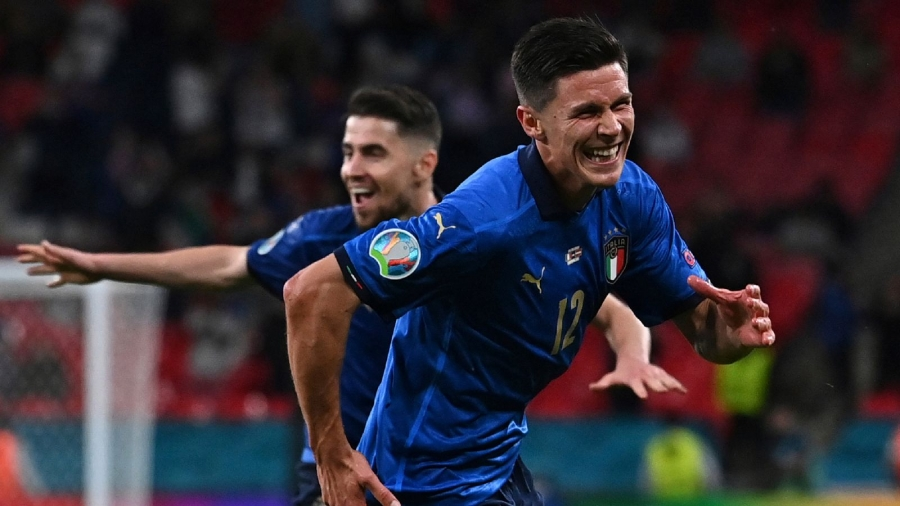 Italy v Austria: Federico Chiesa and Matteo Pessina see off spirited underdogs in Euro 2020 last-16 clash at Wembley