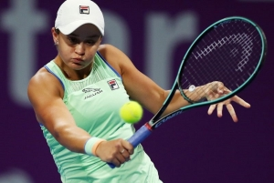 Barty returns to action after 11 months for Australian Open warmup