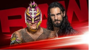 Rey Mysterio will face Seth Rollins in a rematch for WWE Monday night RAW