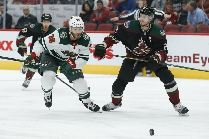 Hartman, Wild rally for win over Coyotes