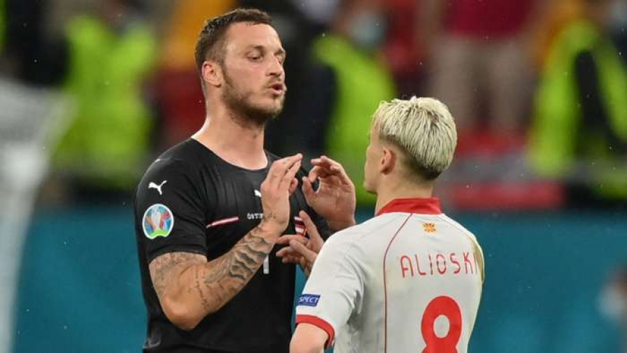 Arnautovic suspended for Netherlands clash after insulting North Macedonia's Alioski