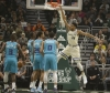 Bucks rout Hornets; Giannis' double-double run ends
