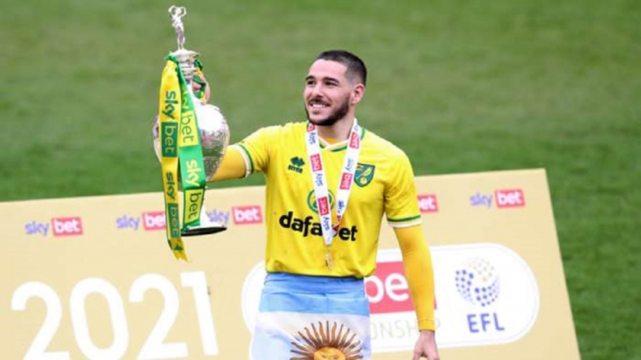 Aston Villa confirm Buendia signing from Norwich