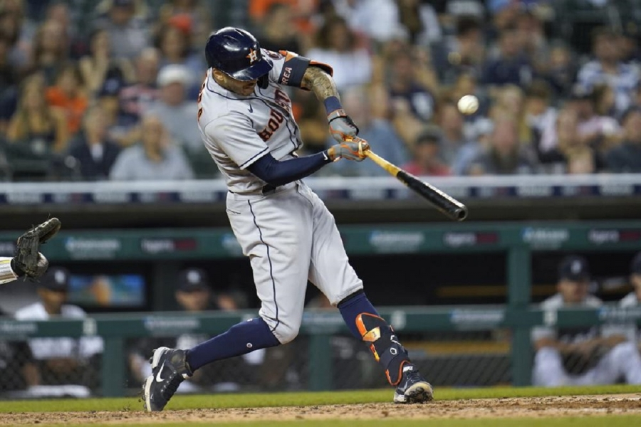 Houston Astros v Detroit Tigers: Correa leads Astros to 11th straight win, over Tigers