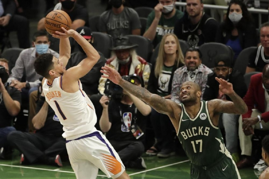Suns' Booker seeks to bounce back from Game 3 struggles