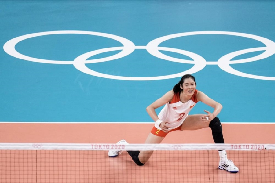 Defending women's volleyball champ China drops 3rd straight