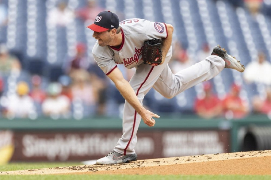 Washington Nationals v Philadelphia Phillies: Scherzer takes care of Phils in his possible Nats finale