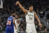 Bucks cruise past Knicks behind Antetokounmpo's 37 points