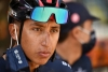 Tour de France - Stage 16 - La Tour-du-Pin to Villard-de-Lans - France - September 15, 2020. Team INEOS Grenadiers rider Egan Bernal of Colombia before the start.