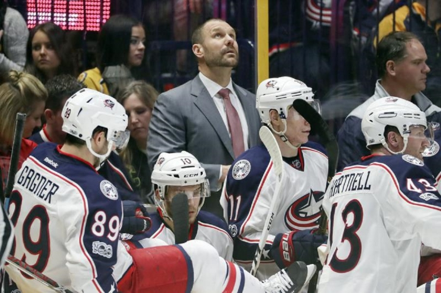 Larsen gets first NHL head-coaching job with Blue Jackets