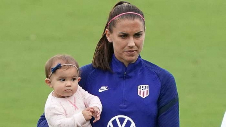Morgan: I feel stronger and fitter than before I was pregnant