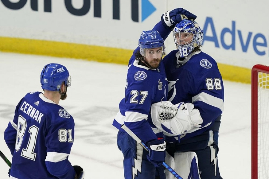 Montreal Canadiens v Tampa Bay Lightning: Kucherov leads Lightning over Canadiens in Game 1