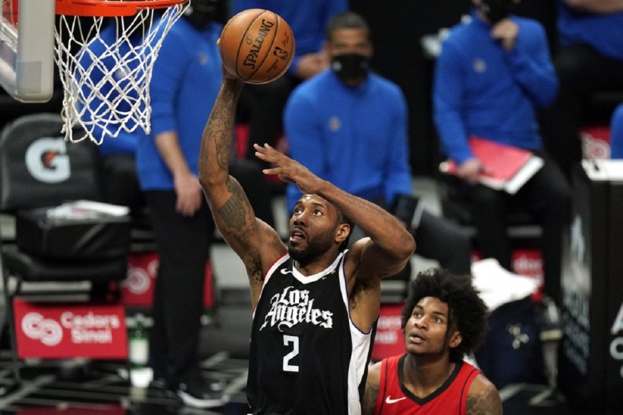 Houston Rockets v Los Angeles Clippers: Leonard scores 31 as Clippers extend winning streak to 4