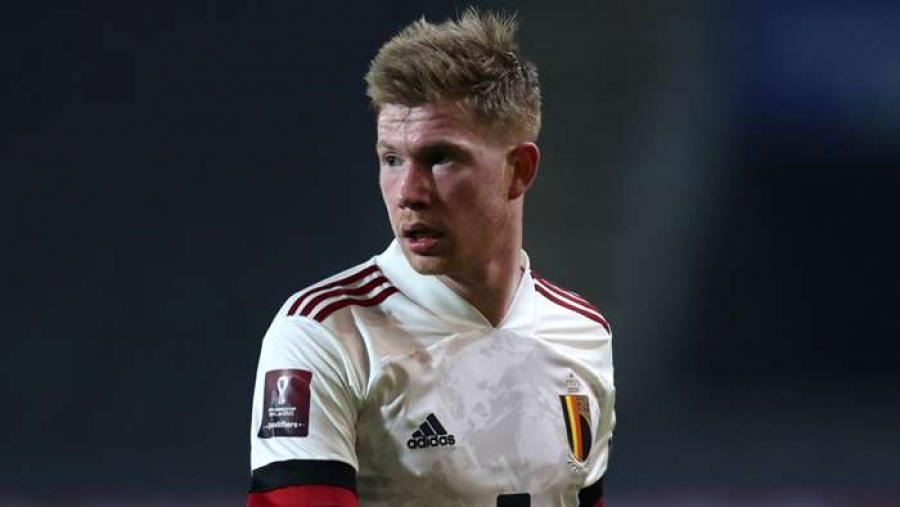 De Bruyne out for Belgium's Euro 2020 opener against Russia