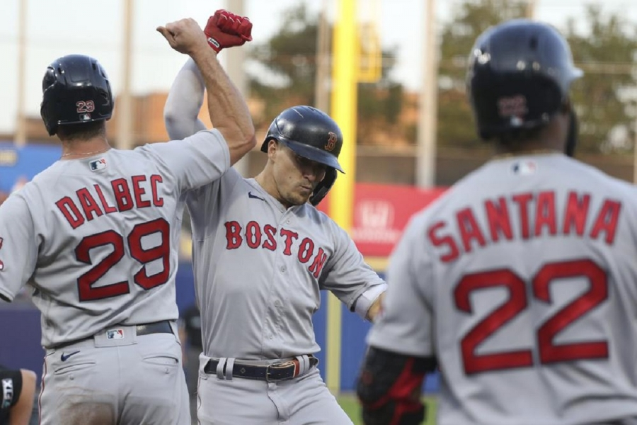 Boston Red Sox v Toronto Blue Jays: Red Sox hit 5 HRs, beat Blue Jays in Buffalo finale