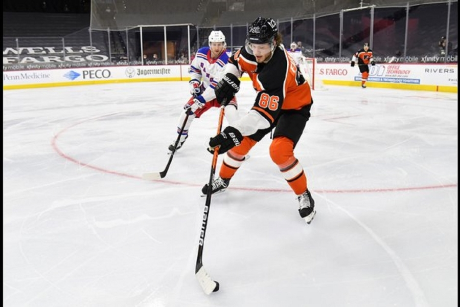 Flyers sign F Farabee to  million, six-year extension