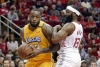 James scores 31 points, Lakers beat Rockets
