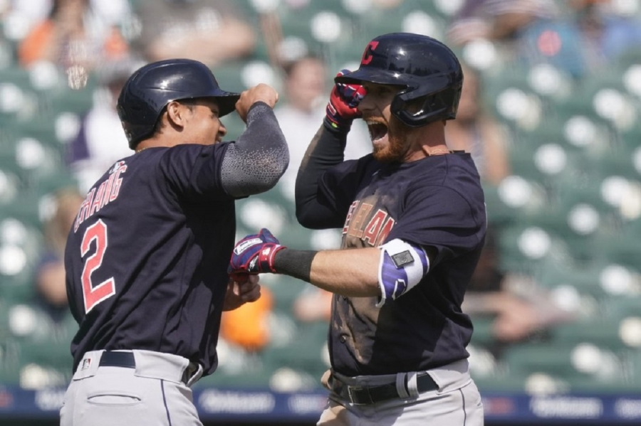 Cleveland Indians v Detroit Tigers: Indians beat Tigers, overcome Baddoo 1st-pitch home run
