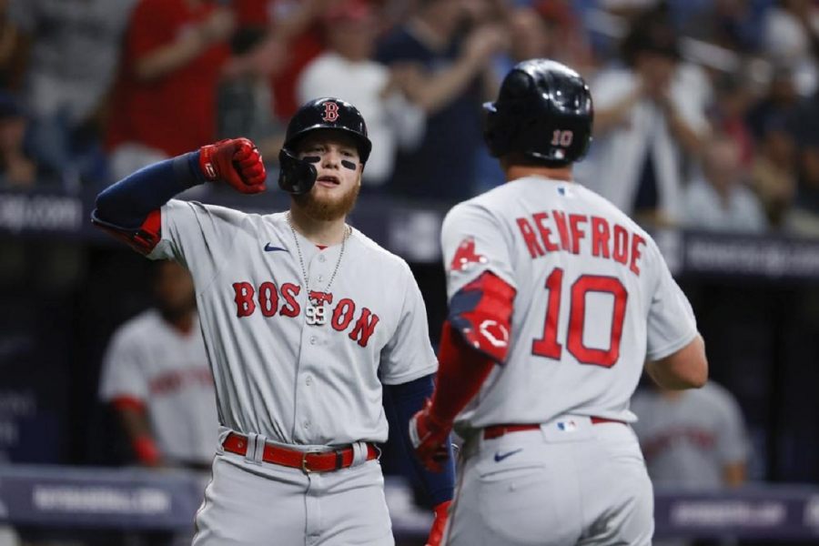 Boston Red Sox v Tampa Bay Rays: Rays top Red Sox for 3-game sweep, widen lead in East