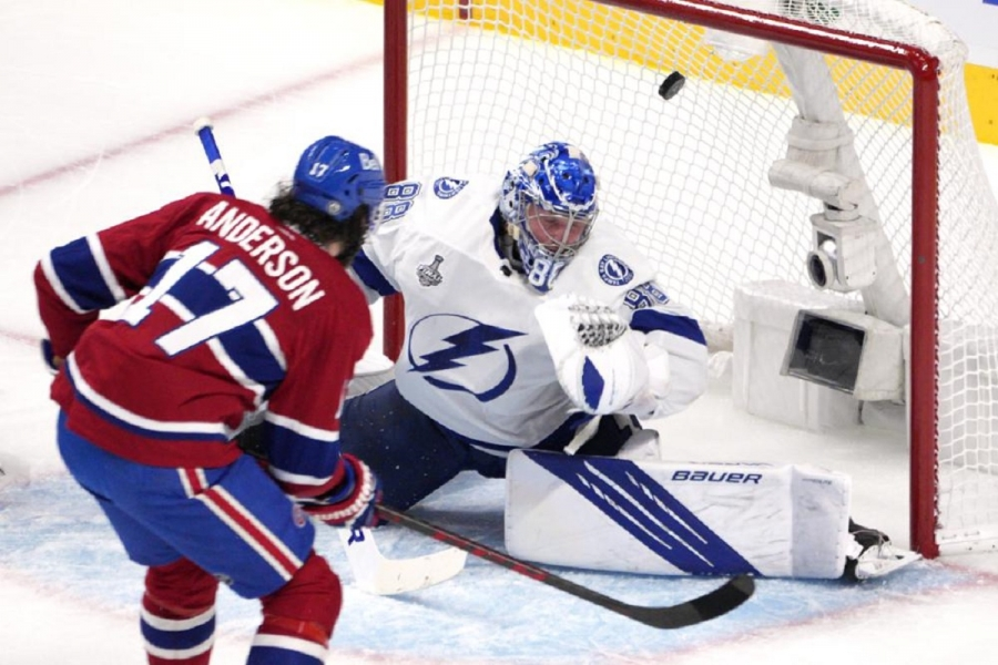 Tampa Bay Lightning v Montreal Canadiens: Canadiens beat Lightning in OT, avoid Stanley Cup sweep
