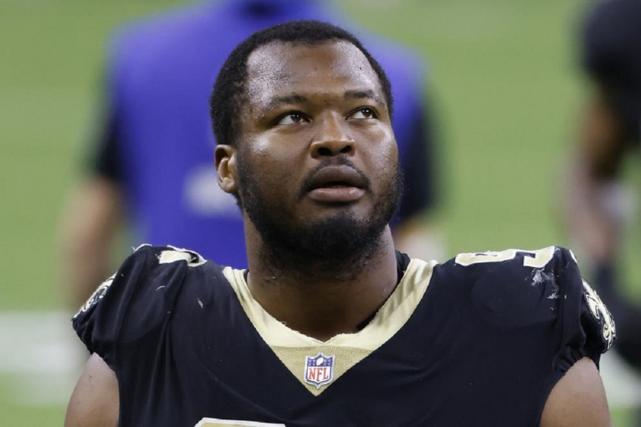 NFL suspends Saints' Onyemata 6 games for banned substance