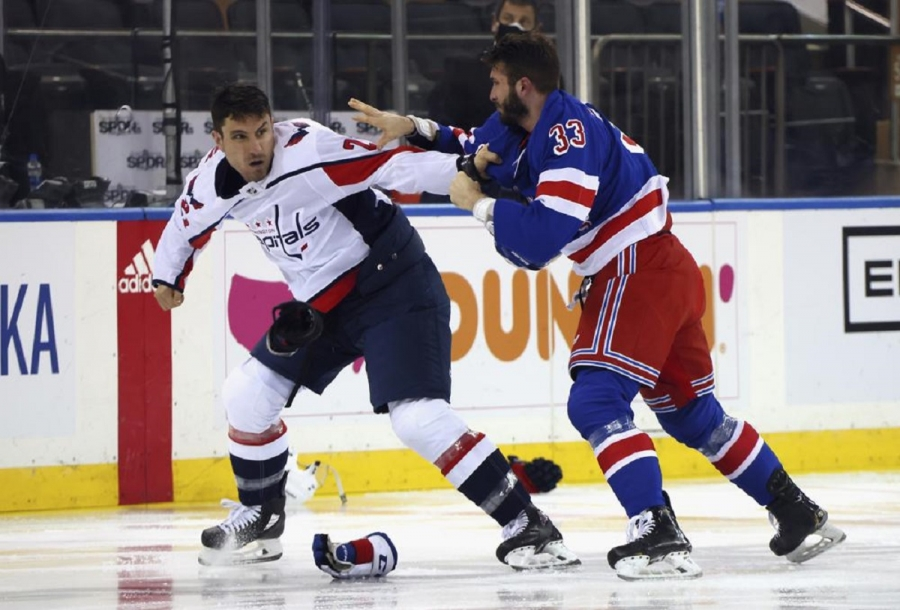 Washington Capitals v New York Rangers: Capitals beat Rangers in fight-filled game