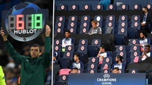 UEFA continues 5 substitutions for the Champions League and Europa League.