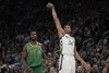 Antetokounmpo, Bucks hold off Celtics